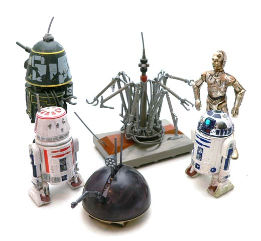 Star Wars�, Star Wars Action Figures�, jawa�, WED, Treadwell, Droid, Action Figure Review