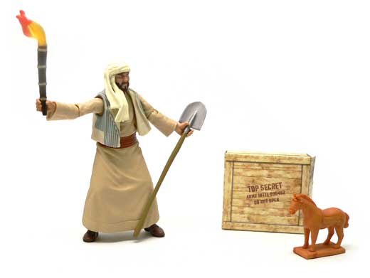 Sallah, Indiana Jones�, Raiders of the Lost Ark�, Hasbro, Action Figure Review